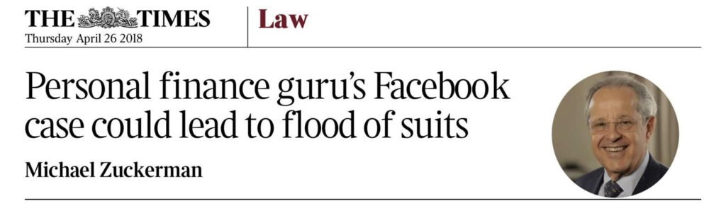 Redress in The Times